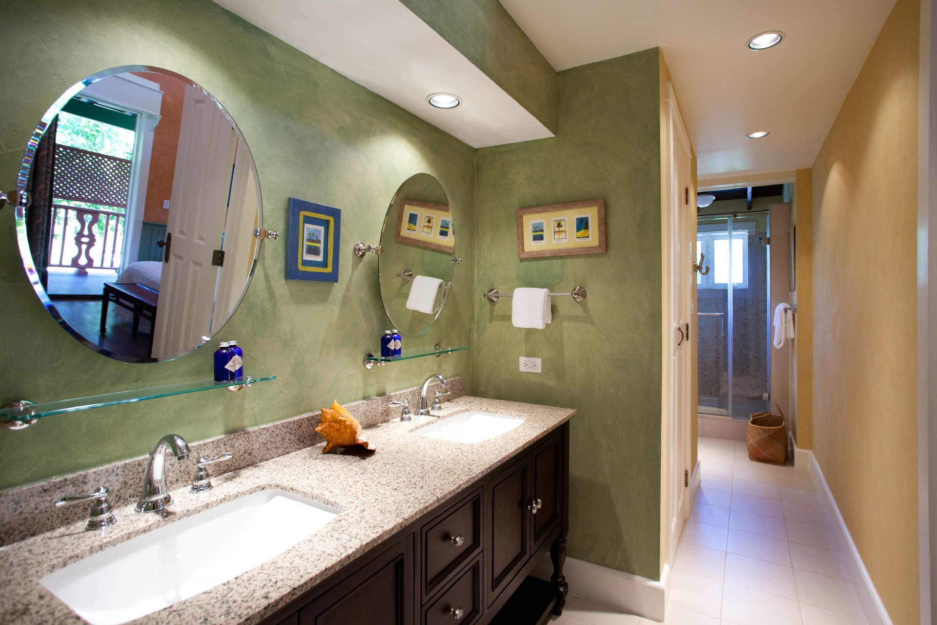 Pimento master bathroom