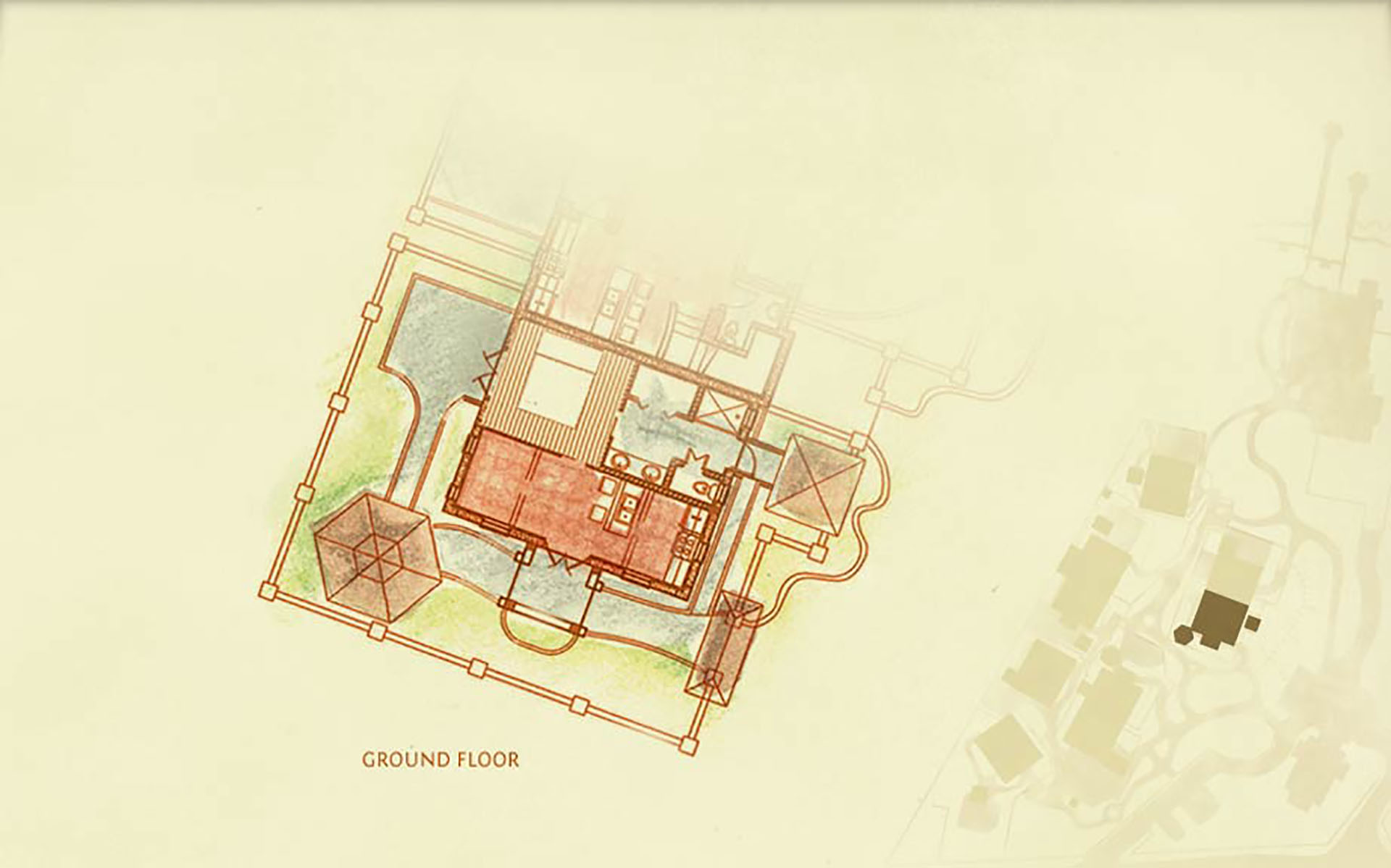 Coconut ground plan